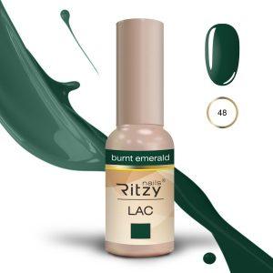 """Ritzy Lac """"Burnt Emerald"""" 48 gel polish"""