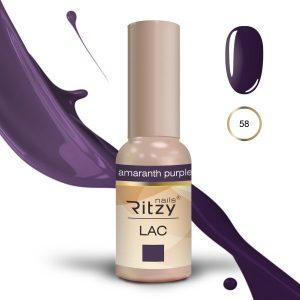 """Ritzy Lac """"Amaranth Purple"""" 58 gel polish"""