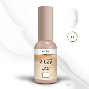 "Ritzy Lac ""White"" 65 gel polish"