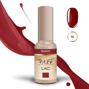 """Ritzy Lac """"Lipstick"""" 66 gel polish"""