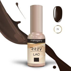 """Ritzy Lac """"Mahogany"""" 71 gel polish"""