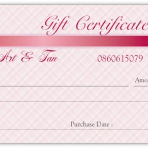 """""""Gift Certificate"""""""